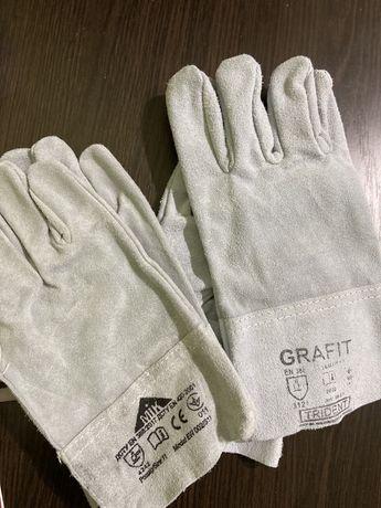 Перчатки, рукавицы кожанные ( спилковые)