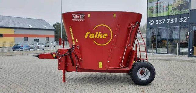 Wóz paszowy FALKE MIX 8, gwarancja 36 miesięcy