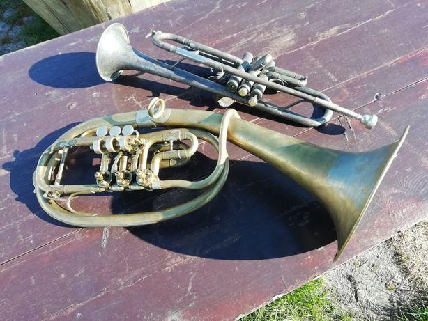Troby i bembny instrumenty dęte