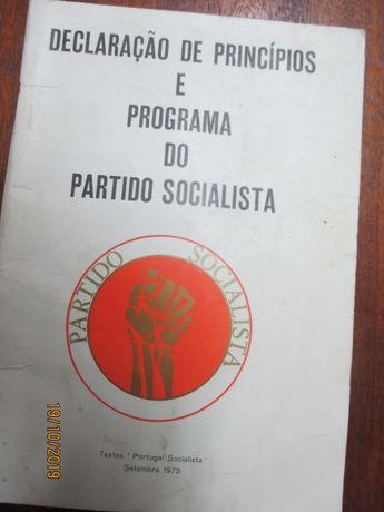 Declaração de princípios e programa do Partido Socialista - 1973