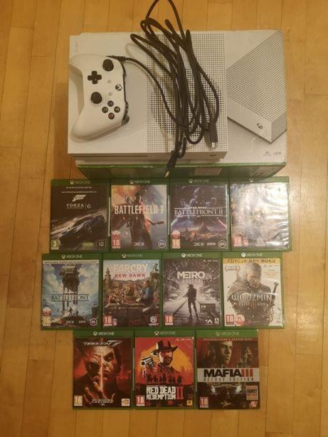 Xbox One S 1TB+8 gier+osprzęt OKAZJA