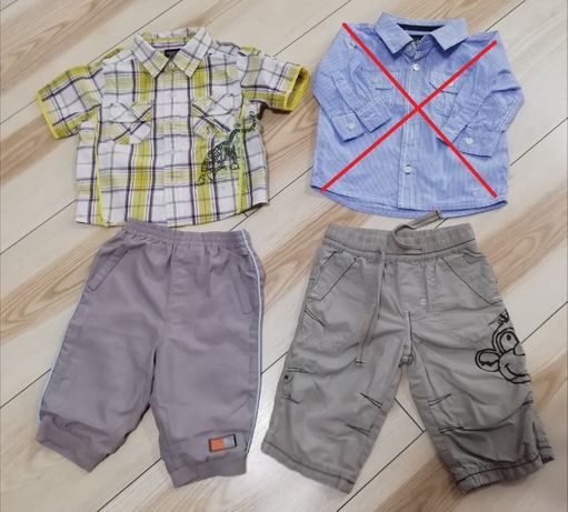 koszula i spodnie rozm. 68