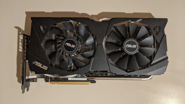 ASUS STRIX GTX 980 4Gb OC (DirectCU II)(Лучше 1060, 1050Ti, RX480-580)