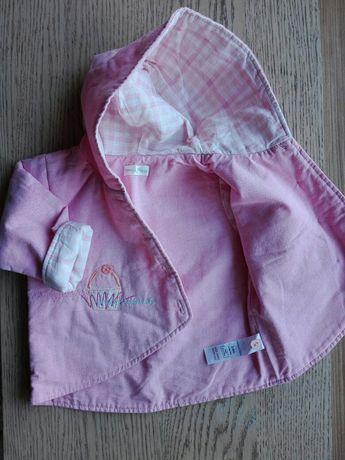 Kurtka,kurteczka dla dziewczynki rozmiar 68, 3-6 miesięcy