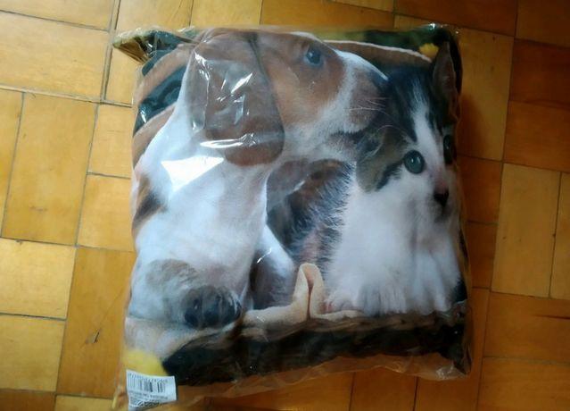 Poduszka ze zwierzętami