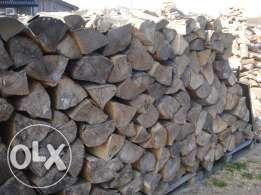 Drewno kominkowe - ładne grube polana - sezonowane