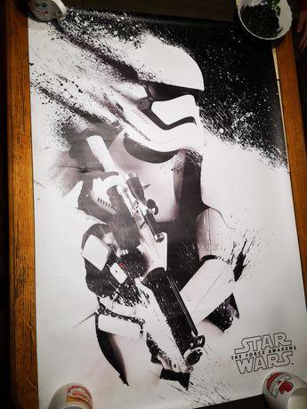 Постер Star Wars Episode VII Stormtrooper Paint Matt Coated Art Print
