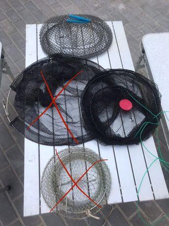 Садок для рыбы/ рыбалки раков/ сетка гейши
