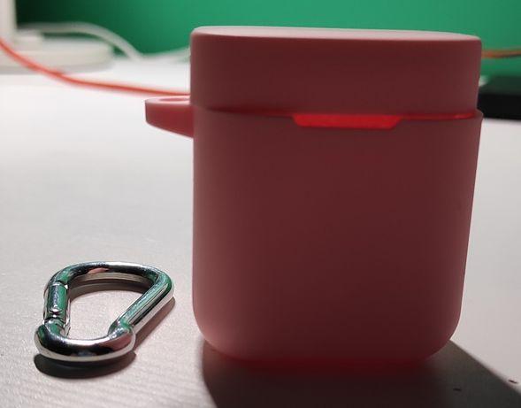 Różowe etui na słuchawki airdots pro