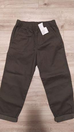 Spodnie chłopiece 128 H&M