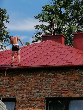 Malowanie dachów podbitki rynny itd- SZYBKIE TERMINY cały Śląsk