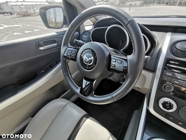 Mazda CX-7 Mazda CX 7 Biała Perła BOSE Beżowe Skóry Stan Idealny