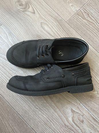 Туфлі шкіра/нубук для хлопчика 36р.