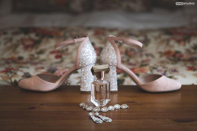 Dorothy Perkins Wide Fit buty na słupku do ślubu