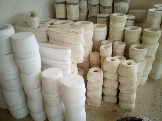 Formy gipsowe do ceramiki.