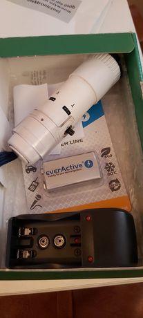 Elektroniczna krtań/ Proteza głosu Amplicord z akumulatorami