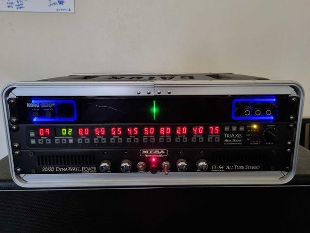Pré e amplificador Mesa Boogie topo de gama