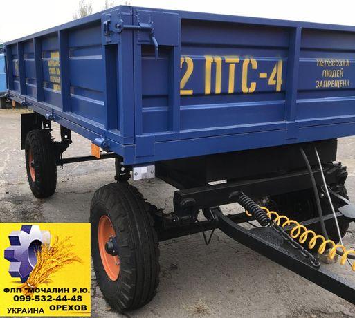 Прицеп тракторный 2ПТС-4М, НТС-5, 2ПТС-6, 2ПТС-9