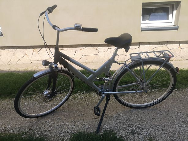 Rower miejski Aluminium 28c 7 biegów