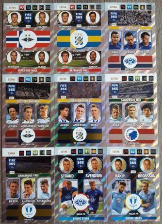Karty Panini Adrenalyn XL FIFA 365 rok 2017 Multiple Komplet