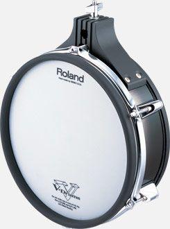 Vários componentes de bateria Roland V-Drum (desde)