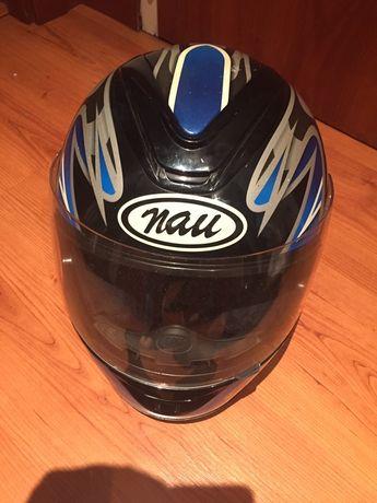 Capacete mota marca Nau
