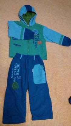 костюм демисезонный, курточка, штаны