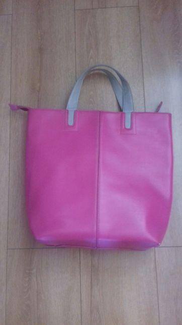 Różowa torba