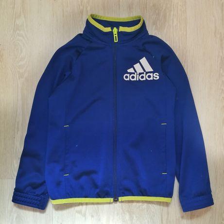 Оригинал спортивная кофта adidas, ветровка, олимпийка на молнии
