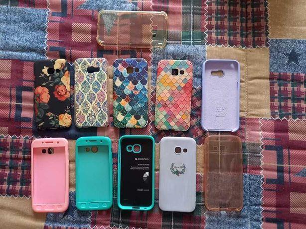 Capas de vários tipos para o smartphone Samsung Galaxy A3 2017