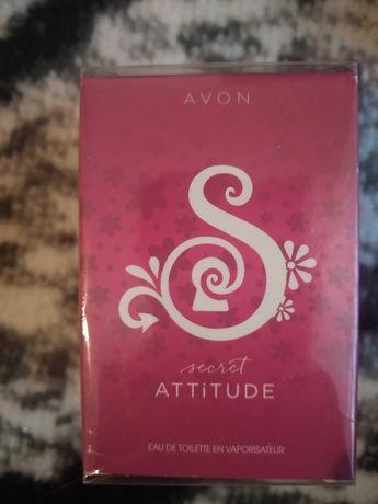 Avon secret attitude perfum damski
