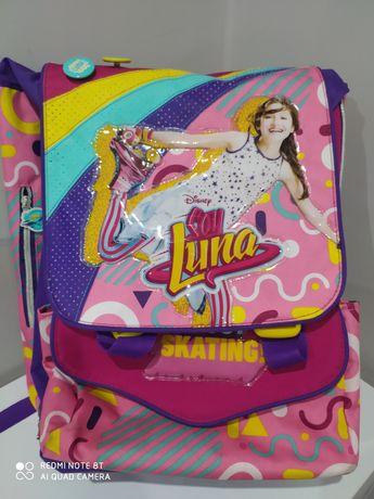 Plecak Soy Luna duży profilowany usztywniany gratis torebka