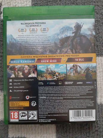 Gra Wiedźmin 3 dziki gon, Xbox one