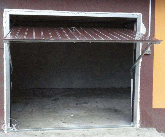 BRAMA garażowa 260x190 uchylna-dwuskrzydłowa-drzwi stalowe