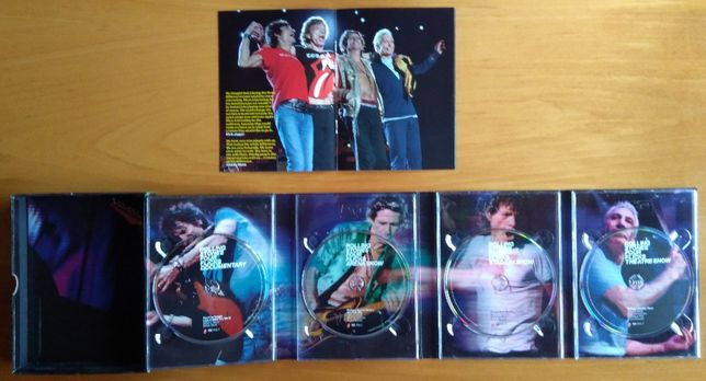 Rolling Stones Four Flicks 4 DVD