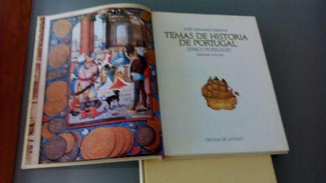 Temas de História de Portugal 1º e 2 º Vol - José Hermano Saraiva