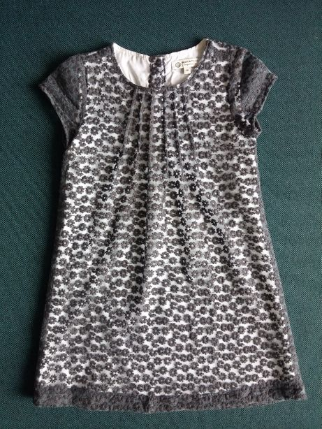 jak nowa C&A elegancka wizytowa sukienka dla dziewczynki rozm.110