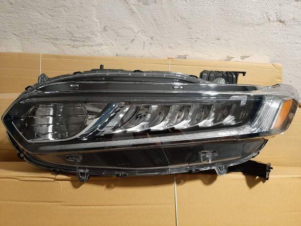 Honda Accord 10 USA 2018 фары, задний фонарь внутренний/наружный