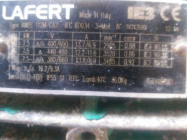 Электродвигатель мощный с насоса насос поломался двигатель остался