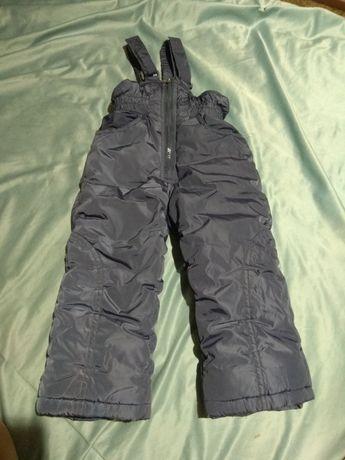 Комбинезон зимний штаны зимние