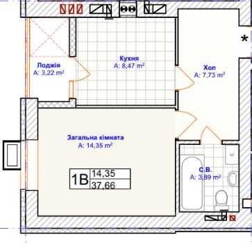 1-комнатная Квартира в Ирпене по доступной стоимости в клубном доме!!!