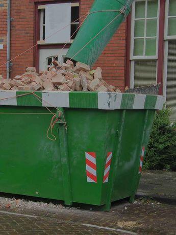 Wynajem kontenerów na gruz śmieci itp.