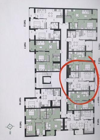 Квартира однокімнатна Авалон Зелена