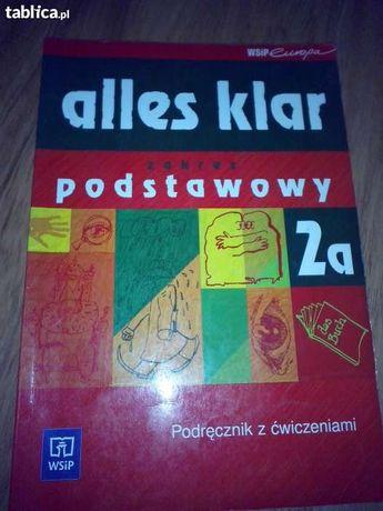 """""""Alles klar"""" język niemiecki, zakres podstawowy 2a – podręcznik do lic"""