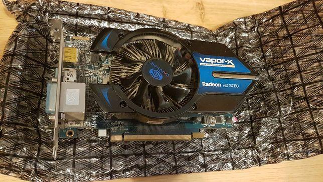 Sapphire HD5750 Vapor-X 1GB GDDR5 ATI/AMD BOX cicha i wydajna!