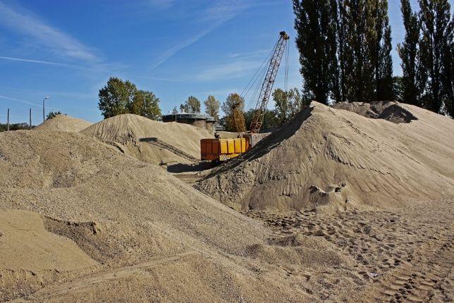 Piasek kopany płukany 0-2 mm piasek rzeczny pospółka żwir