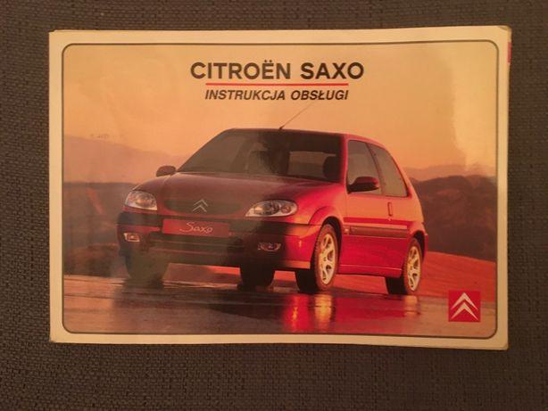 Instrukcja obsługi Citroen Saxo