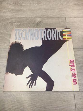 Виниловая пластинка Technotronic Pump up the jam   1989. Vinyl.
