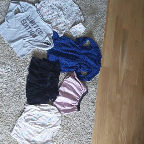 Paka ubran dla dziewczynki r. 122-128