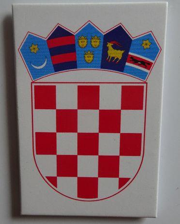 magnes na lodówkę godło Chorwacja